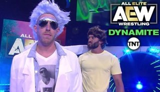 AEW: Dynamite meets Rick and Morty